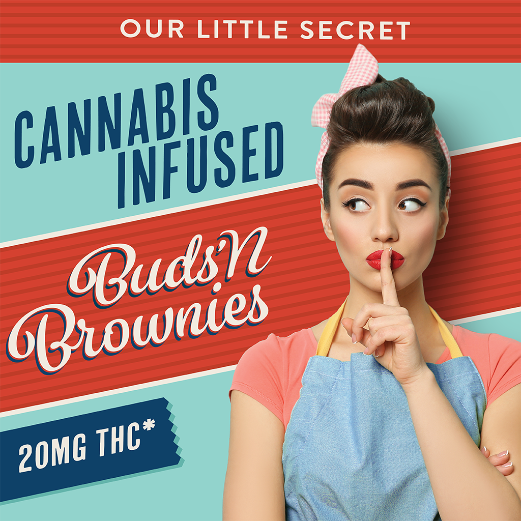 Buds N Brownies brand